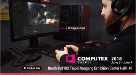 AVerMedia zaprasza na Computex 2018 Hobby,  - Największe targi elektroniki komputerowej w Azji - Computex - już za chwilę. Podczas rozgrywanej w Tajpej imprezy nie zabraknie też strefy AVerMedia.
