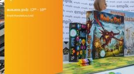 SOBOTA Z PLANSZÓWKAMI #2 - NASZA KSIĘGARNIA - ŁÓDŹ Hobby,  - SOBOTA Z PLANSZÓWKAMI #2 18 maja, godz. 12:00 – 18:00 Empik Manufaktura, Łódź, ul. Karskiego 5 (przed salonem, na niższym poziomie)