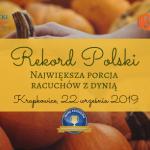 Podczas Bania Fest 2019 w Krapkowicach po raz kolejny będą bić Rekord Polski