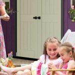 Impreza w ogrodzie? Domek i skrzynia ogrodowa pomogą w organizacji